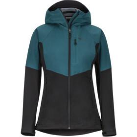 Marmot ROM Jacket Dame black/deep teal